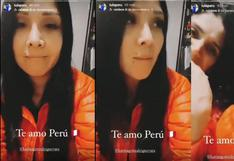 Tula Rodríguez triste porque selección peruana perdió contra Bolivia (VIDEO)