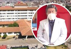 Nuevo director del Hospital Regional Cusco pide a trabajadores solucionar problemas y continuar lucha contra el COVID-19
