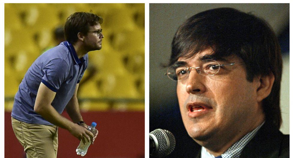 El encuentro ocasional entre el entonces futbolista y el periodista se dio en un hotel de Lima. (Fotos: AFP)