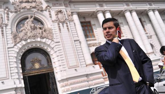 Luis Galarreta indicó que se podrían evaluar reformas políticas de la Constitución. (Foto: GEC)