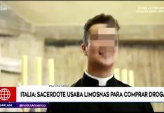 Sacerdote utilizaba limosnas para organizar fiestas sexuales y comprar drogas en Italia (VIDEO)
