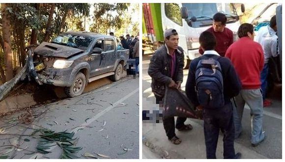 Tres escolares fallecen tras ser arrollados por una camioneta