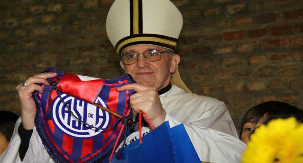 Bergoglio, Papa Francisco I, es hincha del San Lorenzo
