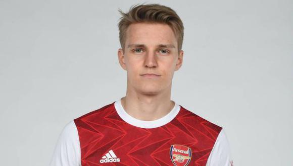 Martin Odegaard jugará en Arsenal hasta el final de la temporada. (Foto: Arsenal)