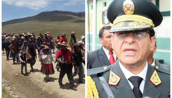 """Jefe de la PNP en Cusco: """"Hasta ahora no hay reportes de violencia por paro antiminero en Velille"""""""