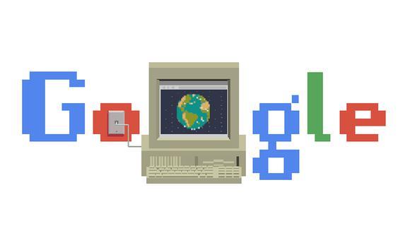 Google rinde homenaje a Internet por su 30 aniversario con un Doodle