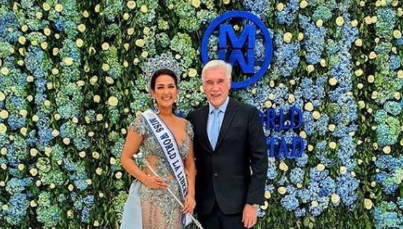 Mis Earth: Tito Paz busca a la representante peruana que pueda traer la corona del certamen. (Foto: @missworldperulalibertad).