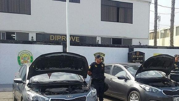 Diprove: Hasta 17 vehículos al día fueron robados en Lima durante el 2016