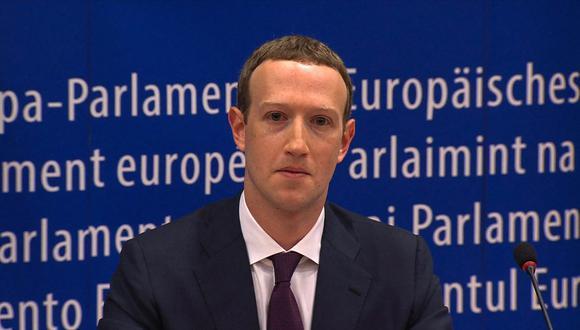 Mark Zuckerberg comparte carta que envió a sus trabajadores. (Foto: EBS / AFP)