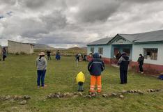 Protestan por cierre de PRONEI en sector Chuncara de Laraqueri - Puno