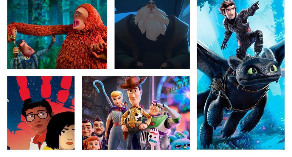 Estas son las cinco opciones para llevarse el Oscar 2020 en Mejor Película Animada. (Foto: Composición)