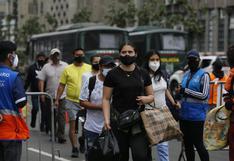 Reportan disparos al aire en enfrentamiento entre ambulantes y fiscalizadores en la Av. Abancay