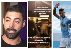 Futbolista Ray Sandoval fue detenido tras ser acusado de dañar auto de Sebastián Lizarzaburu