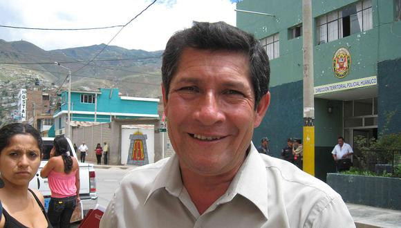 Alcalde de Ambo es sentenciado a cuatro años de cárcel