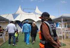 Supervisan protocolos en primer circo que volverá a recibir asistentes en pandemia en Huancayo