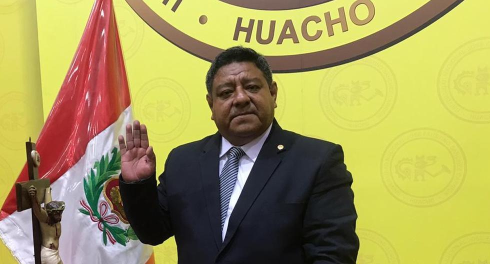 Jovián Sanjinez juramentó como nuevo miembro del pleno del Jurado Nacional de Elecciones