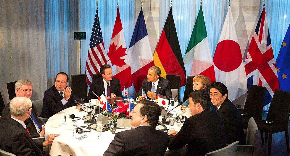 """G7: Migrantes, un """"reto mundial"""" que """"requiere una respuesta mundial"""" (VIDEO)"""