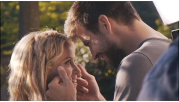 """Shakira: el detrás de cámaras de """"Me enamoré"""" que sí muestra a Gerard Piqué (VIDEO)"""