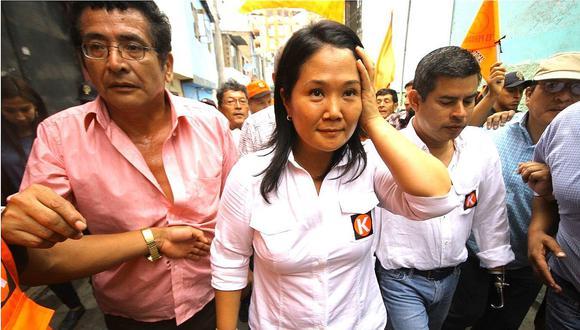 Keiko Fujimori: PJ programa para el 17 de octubre apelación de detención preliminar