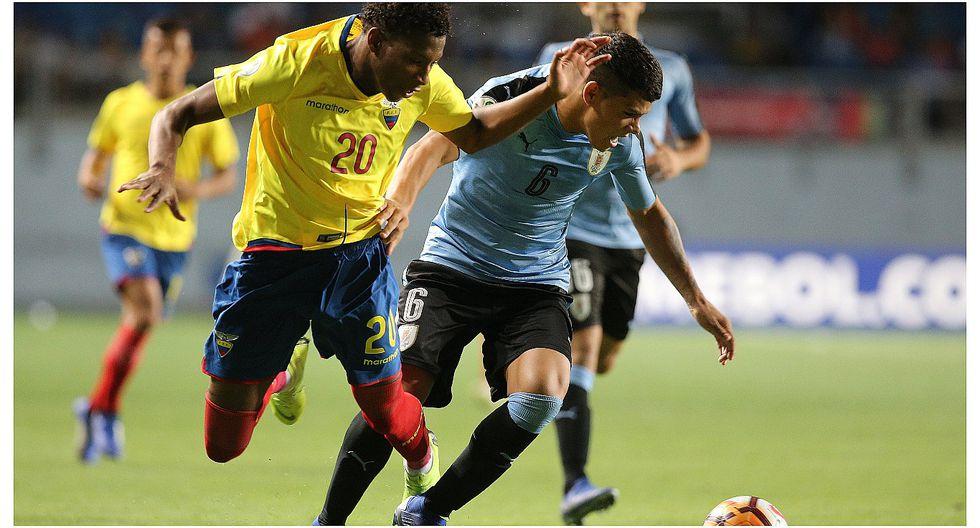 Uruguay trepa a la cima del Sudamericano Sub 20 tras vencer a Ecuador