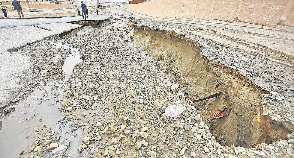 Lurín: Desborde de aguas servidas afecta casas y fábricas