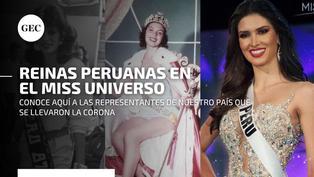 Estas reinas de belleza peruanas son las que más lejos han llegado en el Miss Universo