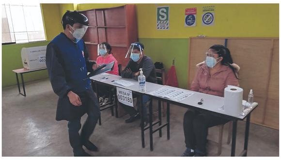 Defensoría del Pueblo presenta informe sobre labor realizada por la oficina de Chimbote antes y durante el balotaje del pasado 6 de junio.