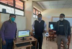 Escolares de Tiquillaca ya cuentan con servicio de internet gratuito