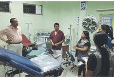 Establecimientos de salud de Tumbes en alerta roja