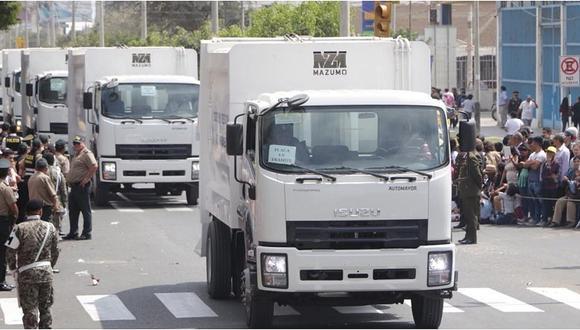 Preparan entrega de compactadoras en José Leonardo Ortiz