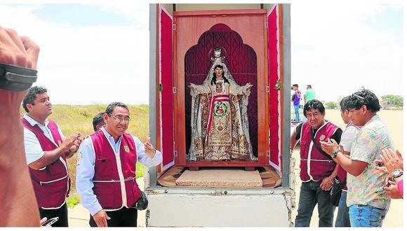 "La ""Mechita"" regresa a Paita tras acompañar al Papa Francisco"