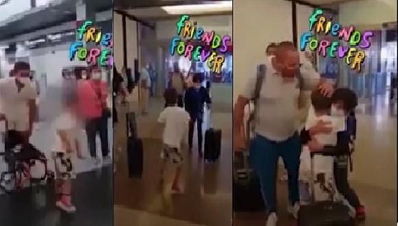 El hijo de Antonio Pavón y Sheyla Rojas, volvió a protagonizar una tierno video que vienen inundando las redes sociales.