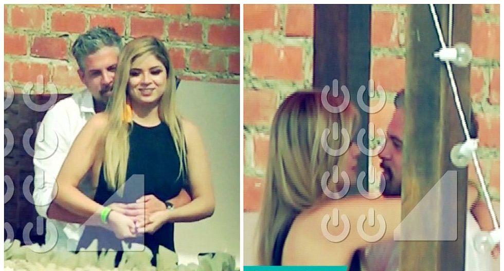 Exnovio de Sheyla Rojas, Pedro Moral, fue captado besándose con Doménica Delgado (VIDEO)