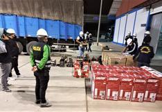 Piura: Incautan más de medio millón de soles en productos de contrabando