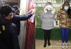 Mujeres ejercían la prostitución en local de venta de ropa en Cusco