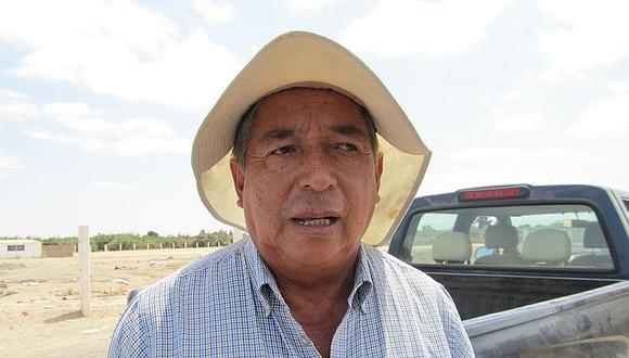 Agricultores plantearon tres opciones de solución al gobernador Tonconi