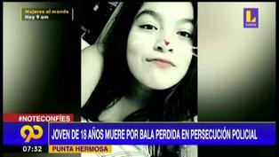 Joven de 18 años fallece por bala perdida durante persecución a delincuentes en Punta Hermosa (VIDEO)