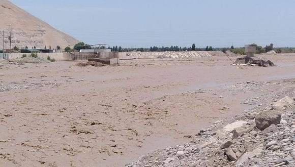 Caudal del río Tambo se elevó y existe riesgo de inundación por puntos críticos