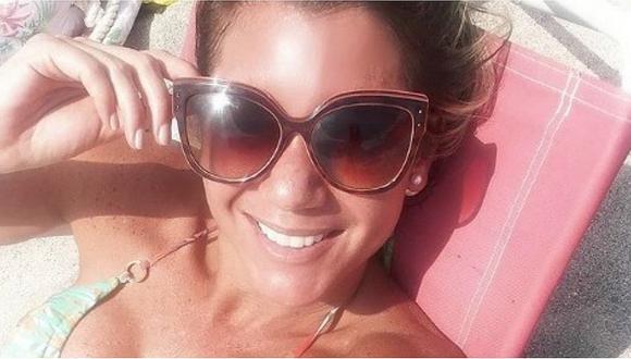 Alexandra Hörler mostró toda su belleza luciendo un sensual bikini (VIDEO y FOTOS)