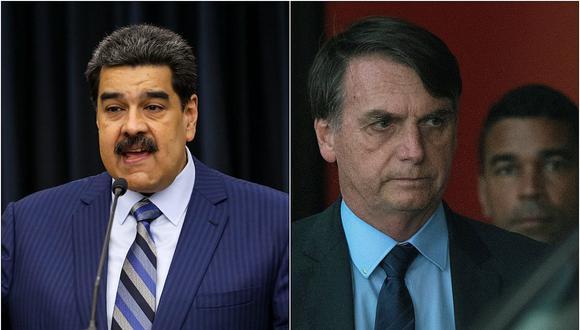 Maduro acusa a Bolsonaro de complotar con EE. UU. y Colombia para derrocarlo y matarlo