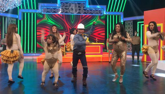 El ingeniero que es furor en TikTok llegò desde Iquitos para presentarse en exclusiva en el Reventonazo de la Chola.