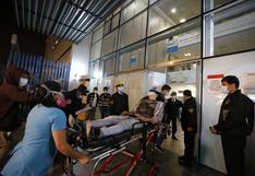 """Marcha contra Merino: """"Reportan 63 lesionados por heridas de proyectil e inhalación de gases"""", informa el Minsa"""