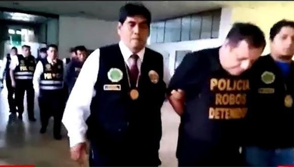 Los Olivos: capturan a banda liderada por un suboficial PNP en retiro (VIDEO)