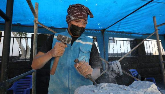 Los artistas estarán en la plaza de Yanahuara los días 26 y 27 de agosto. (Foto: Leonardo Cuito)