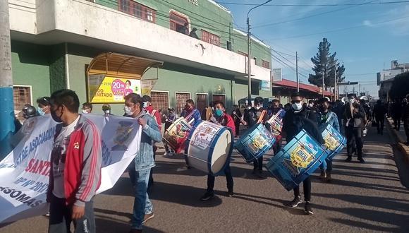 Según algunos músicos la protesta es para exigir al gobierno para que les dejen trabajar. (Foto: Difusión)