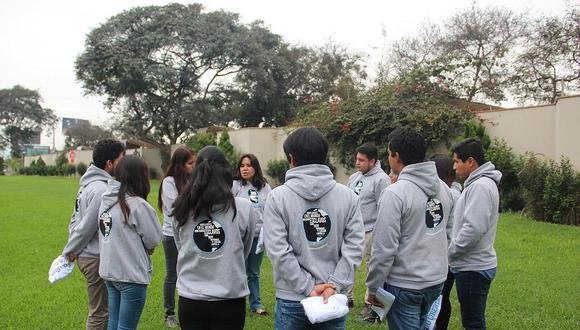 Caravana informativa contra trata de personas llega a frontera con el Ecuador