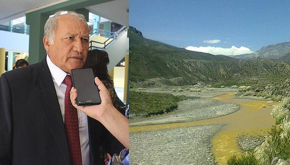 Rodríguez afirma desconocer contaminación del río Coralaque (VIDEO)