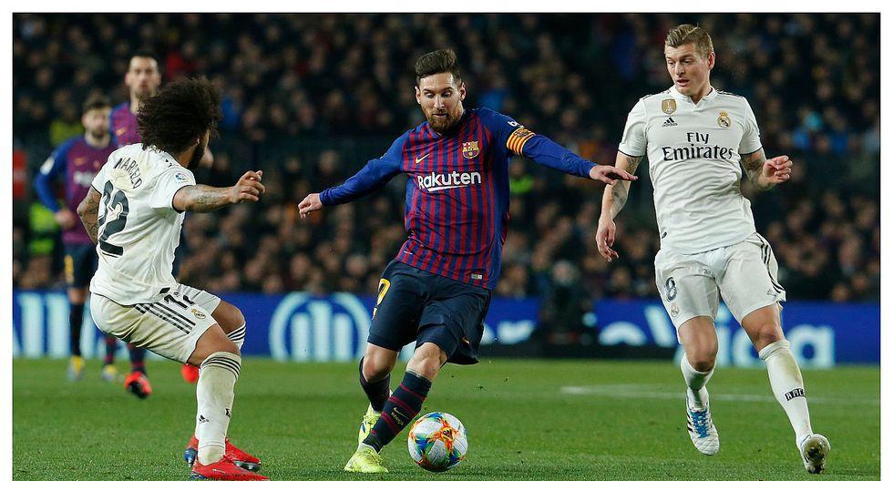 Barcelona vs Real Madrid: los goles del empate 1-1 por la Copa del Rey (VIDEO)