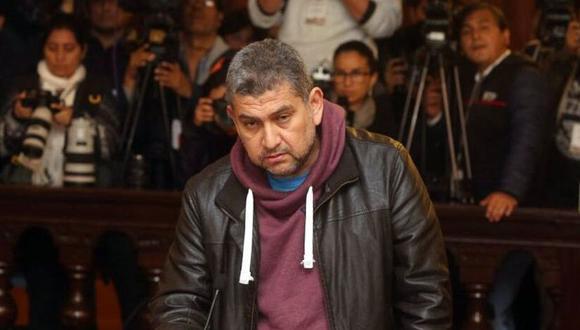 El expresidente de la Corte del Callao Walter Ríos