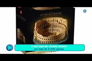 LEGO lanza set del Coliseo Romano con 9.036 piezas